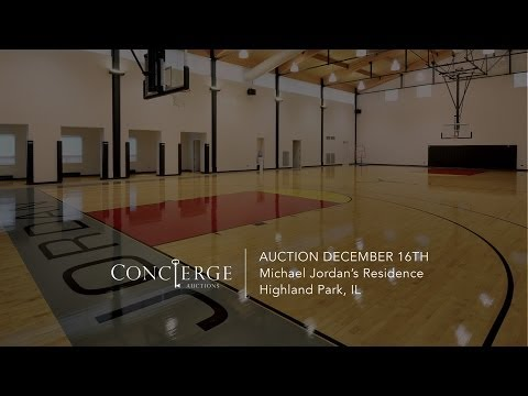 A look into Michael Jordan's 56 million Dollar house, going up for auction