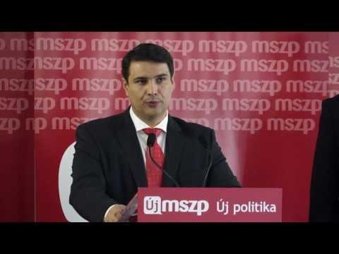 Az MSZP elfogadta választási programját, az országos és EP-listákat