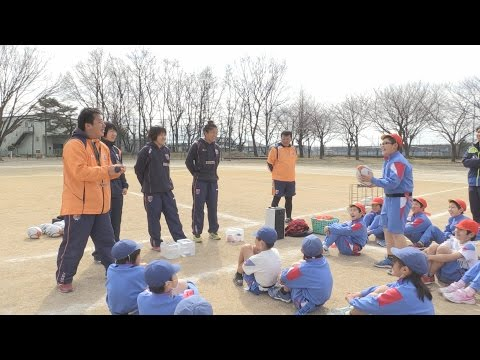 タグラグビー出前モデル授業in笠原小20170227