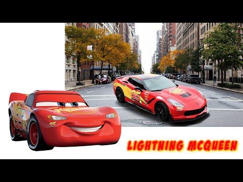 Cars 3 characters in real life! Тачки Герои мультфильма в реальной жизни