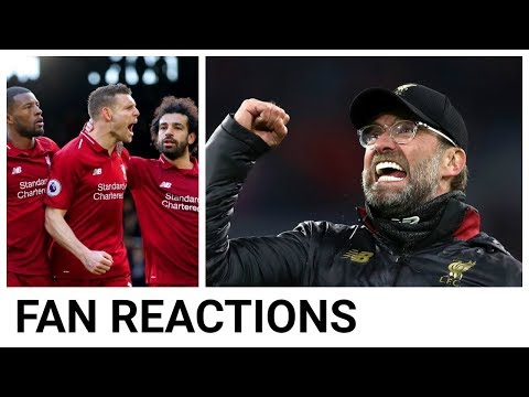 Fan Reactions: Liverpool Return To The Top Of The Premier League | Fulham Vs Liverpool 1-2