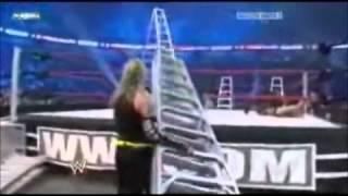 World Heavyweight Championship Ladder Match: Jeff Hardy vs Edge