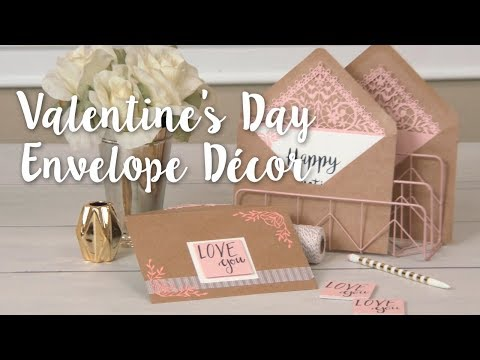 Sweet & Elegant DIY: Valentine's Day Envelope Décor for Date Night