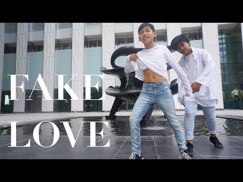 BTS (방탄소년단) 'FAKE LOVE' dance cover by 4KPOP from France
