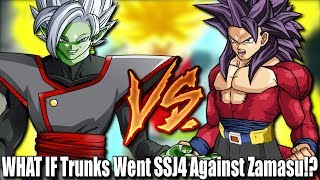 WHAT IF Trunks Went SSJ4 Against Zamasu In Dragon Ball Super!? Would Trunks VS Merged Zamasu change course!? Would trunks stand more of a chance as a Super Saiyan 4!? Hope y'all enjoy!! Have an amazing blessed day and live life to its fullest! :DMake Sure To Follow Me On Social Media!!Twitter: https://twitter.com/jrzsaiyanInstagram: https://www.instagram.com/jrzsaiyan/Twitch: http://www.twitch.tv/jrzsaiyan