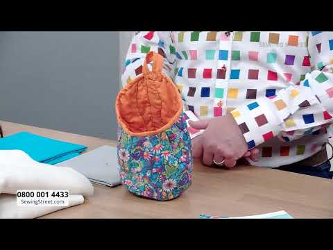 Sewing Street –20/01/2021 – Storage Pods & Basics of Embroidery with Jules Mayouf