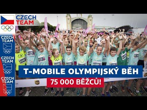T-Mobile Olympijský běh rozběhal 75 tisíc běžců