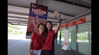 "OneTeamSG Ready For KL"" campaign fronted by faces of defending medallists from the 2015 SEA Games and ASEAN Para ..."