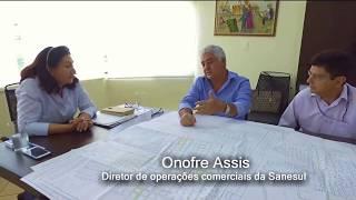 Prefeita Délia trata com Sanesul sobre intervenções da empresa em Dourados