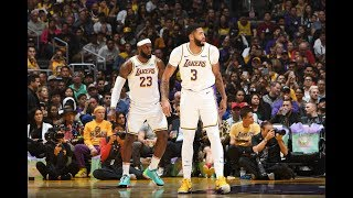 LeBron James & Anthony Davis Put On A Show At Staples Center vs. Warriors by Bleacher Report