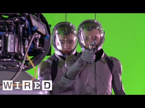 Ender's Game: Creating a Zero-G Battle Room Effects Exclusive-Design FX-WIRED