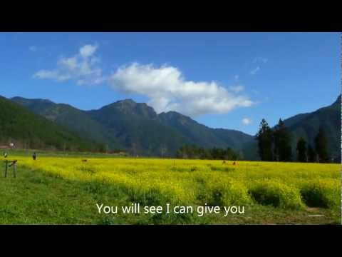 Celine Dion – To Love You More   + lyrics – 720p HD, 2012 Taiwan Mt.Snow  武陵1雪山麓