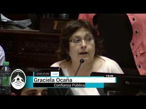 Ocaña opina sobre el presupuesto 2017 para la Ciudad de Buenos Aires