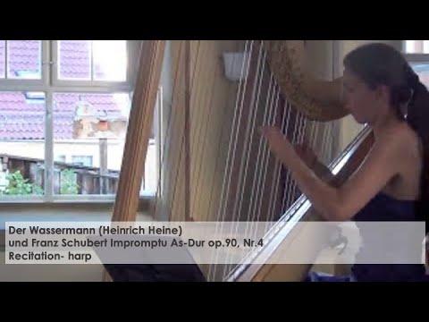 Der Wassermann und Schubert Impromptu, Silke Aichhorn – Harfe / Harp