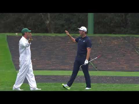 Испанский гольфист попал в лунку с огромного расстояния рикошетом от воды