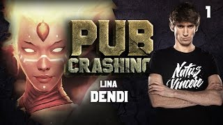 Pubs Crashing: Dendi on Lina vol.1