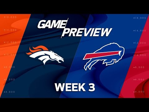 Video: Denver Broncos vs. Buffalo Bills | Week 3 Game Preview | NFL Playbook