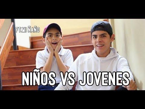 NIÑOS VS JÓVENES | KikeJav Ft. Mi ñaño (видео)