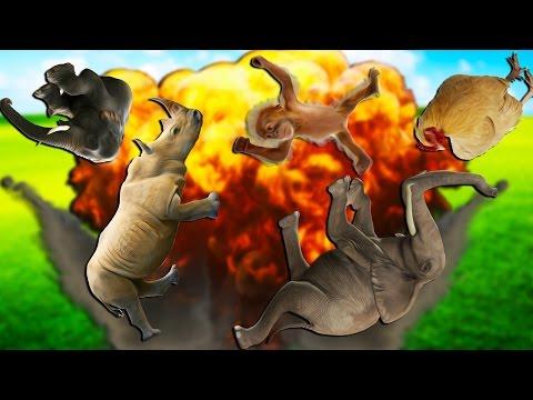 IT'S RAINING ANIMALS! | Far Cry 4 #7 (Map Editor Funny Moments)
