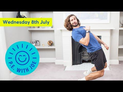 PE With Joe   Wednesday 8th July