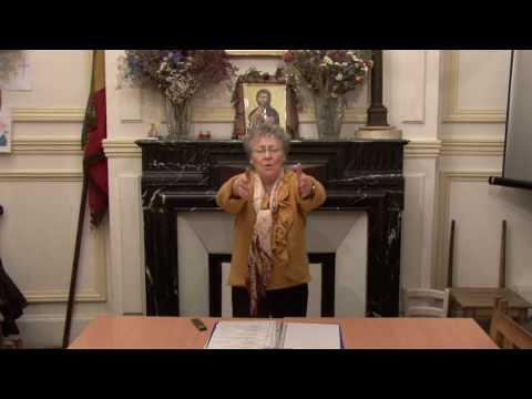 CDS Paris, 9 mars 2017:  Mémorisation évangile