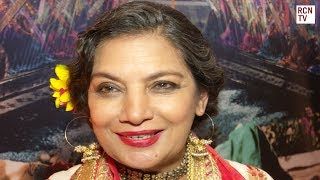 Shabana Azmi Interview Indian Cinema & The Black PrinceSubscribe to Red Carpet News: http://bit.ly/1s3BQ54Red Carpet News TV talks to Bollywood stars Farhan Akhtar, Javed Akhtar, Shabana Azmi and Irrfan Khan at the BAFTA tribute to India cinema and director K. Asif's iconic masterpiece Mughal-E-Azam.  We also speak to Deepesh Salgia about the restored and colourized version of Mughal-E-Azam and Feroz Khan about the musical stage adaptation. Check out our other videos for more exclusive Indian cinema content, thanks for watching and don't forget to subscribe. Red Carpet News brings you all the latest Film & Entertainment News. Featuring exclusive content and interviews for Game Of Thrones, Sherlock, Marvel, Star Wars, Harry Potter, Downton Abbey, Doctor Who and so much more.Visit our homepage at http://www.redcarpetnewstv.com or follow us on Twitter @RedCarpetNewsTV for exclusive daily updates, reviews, photo galleries and more. Don't forget to subscribe and thanks for watching