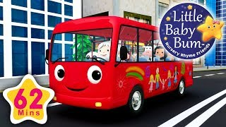 Video Wheels On The Bus | Part 13 | Plus More Nursery Rhymes | 62 Minutes Compilation from LBB! MP3, 3GP, MP4, WEBM, AVI, FLV Juni 2018