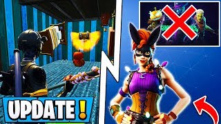 *BIG* Fortnite Update! | New Map Changes, RIP Halloween, Secret Skin!