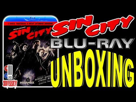 Sin City - Blu-ray Unboxing (Reupload)