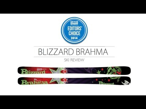 2014 Blizzard Brahma Ski Review - Men's All Mountain Editors' Choice