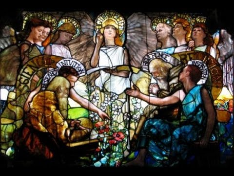 Tiffany. Louis Comfort Tiffany,Vitrail,Stained glass,art nouveau.