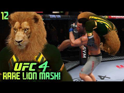 UFC 4 Career Mode #12: INSANELY RARE LION MASK - Colby Covington War! UFC 4 Career Mode Gameplay