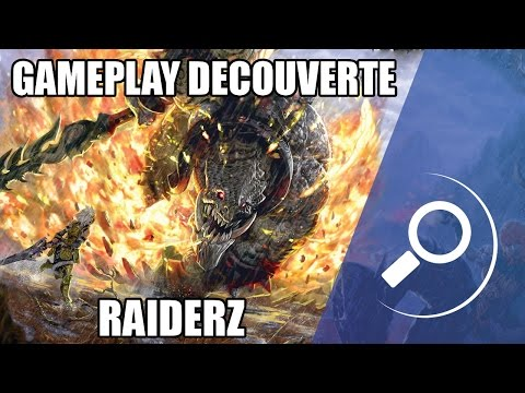 GAMEPLAY DECOUVERTE – RAIDERZ – (JEU GRATUIT)