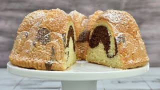 VANILLA CHOCOLATE SPONGE BUNDT CAKE, HANIELA'S Video