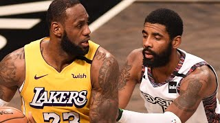 Kyrie Irving TAUNTS & Trolls Lebron James After Overturned Call During Matchup With Lakers by Obsev Sports