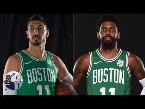 Video: Enes Kanter trolls Kyrie Irving by wearing No. 11 with the Celtics | Jalen & Jacoby