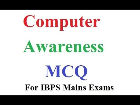 computer awareness question and answer pdf