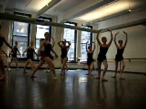 ABT summer intensive (rehearsal)