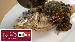 VENOMOUS Lionfish Fish Fry - Asian Inspired Dish by Diaries of a Master Sushi Chef