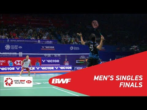 F  MS  Anthony Sinisuka GINTING (INA) vs Kento MOMOTA (JPN) [3]  BWF 2018