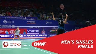 Download Video F | MS | Anthony Sinisuka GINTING (INA) vs Kento MOMOTA (JPN) [3] | BWF 2018 MP3 3GP MP4