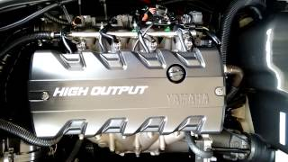 5. 2012 Yamaha Waverunner VXR Engine