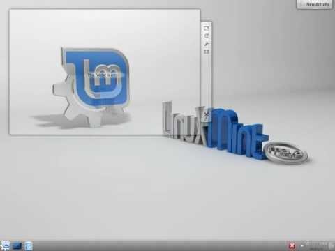 Linux Mint 13 - KDE desktop install