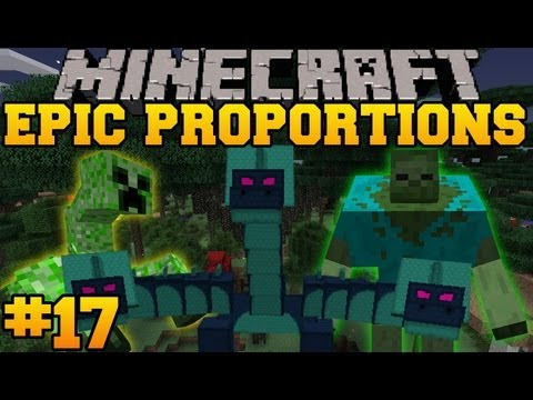 Minecraft: Epic Proportions - Floating Castle! - Episode 17 (S2 Modded Survival)