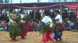 Bua Province Welcomes Fijian Prime Minister Commodore Voreqe Bainimarama With Traditional Dances