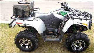 1. 2008 Arctic Cat Thundercat Review and Acceleration
