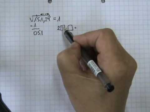 Vídeos Educativos.,Vídeos:Raíz cuadrada 6