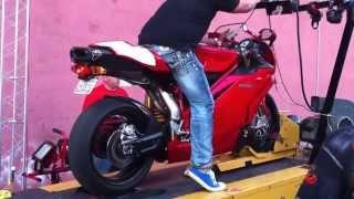 6. 2006 Ducati 999S dyno run. 127hp.