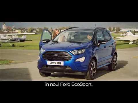 La volanul noului Ford EcoSport - o mașină produsă de români la Craiova pentru întreaga Europă!