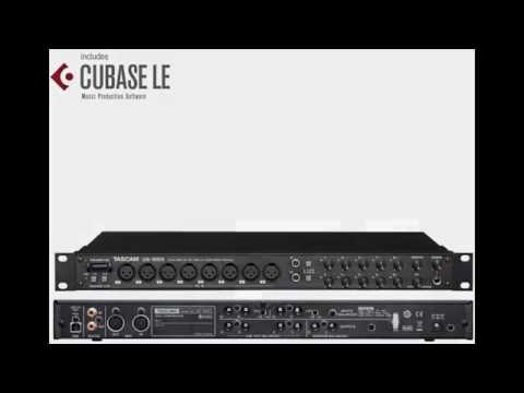 Tascam Recording Audio Interface US-1800 (Instalation & Set up in Cubase)
